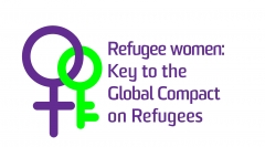Refugee Women and Girls logo