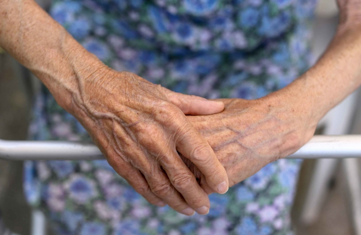 Close up photo of an elderly woman's hands. Photo: BigStock