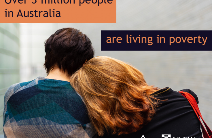 Over 3 million people in Australia are living in Poverty