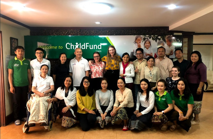 group image of childfund event