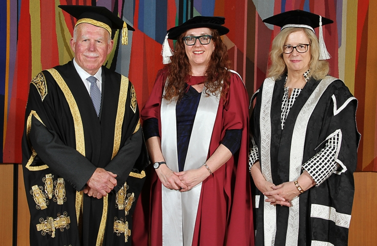 Graduation of Professor Carla Treloar