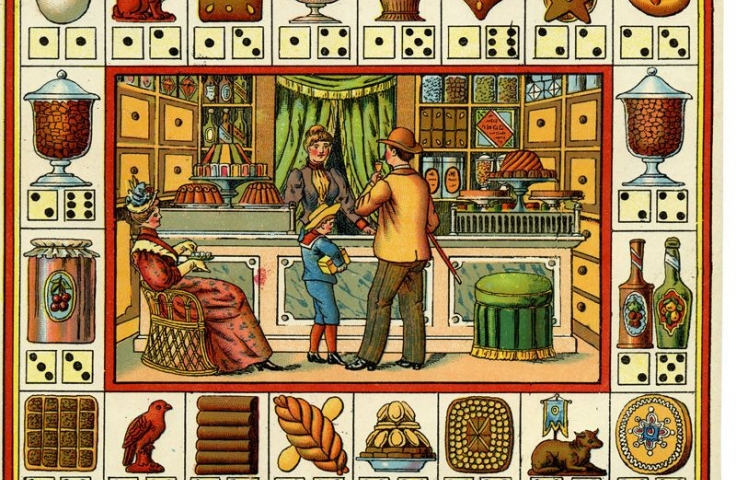 19th century board game