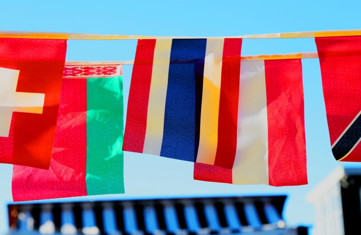 flags of several countries